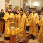 Епископ Вилючинский Феодор освятил корабельный колокол, переданный в дар Камчатскому Морскому собору