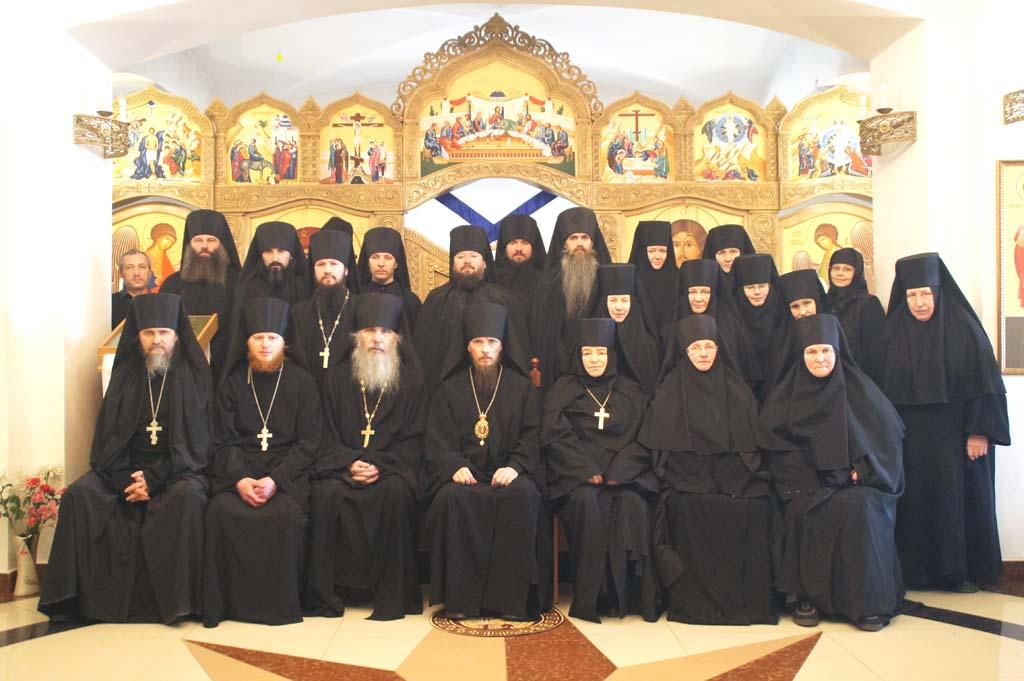 Конференция, посвященная монашеской жизни