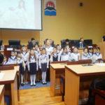 Воспитанники Воскресной школы Камчатского Морского собора выступили на открытии  Парламентских встреч