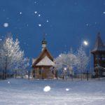 Рождество Христово в поселке Ивашка