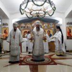 Архиерейское богослужение в Камчатском морском соборе в Святые дни