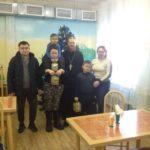 Рождественская Божественная литургия в праздник Собора Пресвятой Богородицы в п. Шаромы