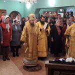 Епископ Феодор возглавил Божественную литургию в престольный праздник храма прп. Серафима Саровского