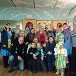 Рождественский молебен в общине Святого Духа