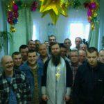 Рождественская служба в поселке Тигиль