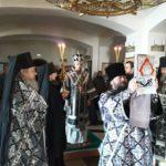 Богослужения первой седмицы Великого поста в Свято-Пантелеимоновом монастыре
