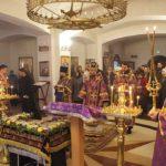 Богослужения Великой пятницы: вынос плащаницы