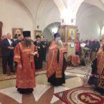 Епископ Вилючинский Феодор совершил Пасхальный молебен в нижнем храме кафедрального собора