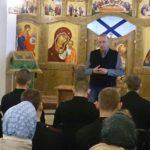 Встреча с писателем Виктором Николаевым в Камчатском Морском соборе