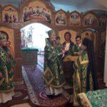 День Святого Духа в Свято-Пантелеимоновом монастыре