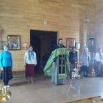 Праздник Святой Троицы в селе Ивашка