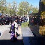 Епископ Феодор совершил чин освящения монумента в память погибших при исполнении сотрудников ОВД