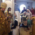 Епископ Вилючинский Феодор совершил Божественную Литургию в Морском соборе в День своего рождения