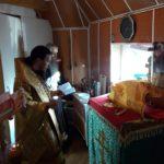 Божественная Литургия в монастырском скиту