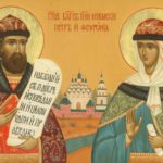 В Морском соборе в праздник св. Петра и Февронии отслужили молебен о создании семьи