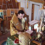 Епископ Феодор совершил Божественную Литургию в скиту мужского монастыря