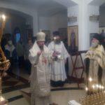 Епископ Феодор отслужил Божественную Литургию и Панихиду в годовщину преставления архимандрита Наума ко Господу