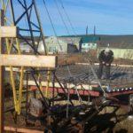 Очередной этап возведения храма в п. Каменское подходит к завершению. Рассказ о. Рафаила о молитве и помощи.