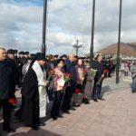 Епископ Вилючинский Феодор принял участие в митинге, посвященном невернувшимся из моря