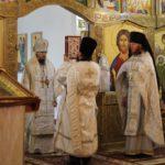 В праздник Вознесения Господня архиепископ Феодор совершил Божественную литургию в Морском соборе