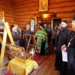 Прихожане Петропавловской и Камчатской епархии встречают икону Богородицы «Всецарица» и ковчег с мощами святых воинов