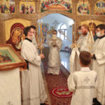 В день памяти святых отцов I Вселенского собора архиепископ Феодор совершил Литургию в Морском соборе